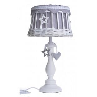 Lampa stołowa wiklinowa 48 cm