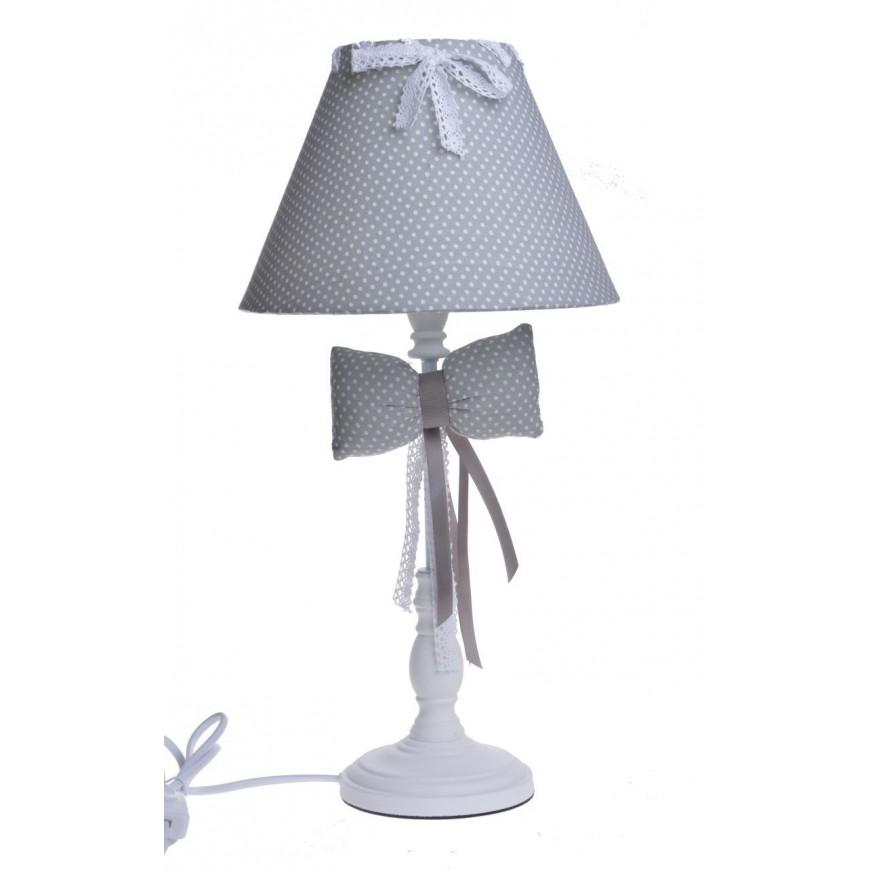 Lampa stołowa w kropki 46 cm