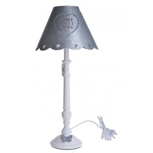 Lampa metalowa z motylem 55 cm
