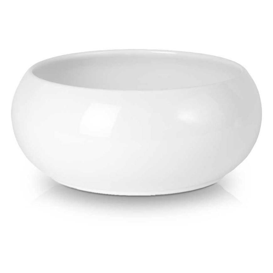 Osłonka ceramiczna misa biała