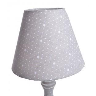 Lampa beżowa w gwiazdki 33,5 cm