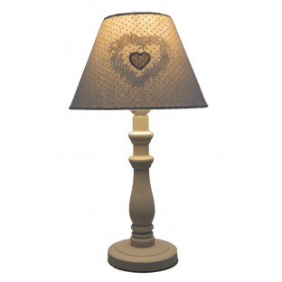 Lampa nocna w kropki 40 cm