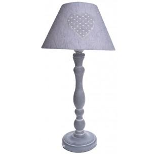 Lampa stołowa z serduszkiem 50 cm
