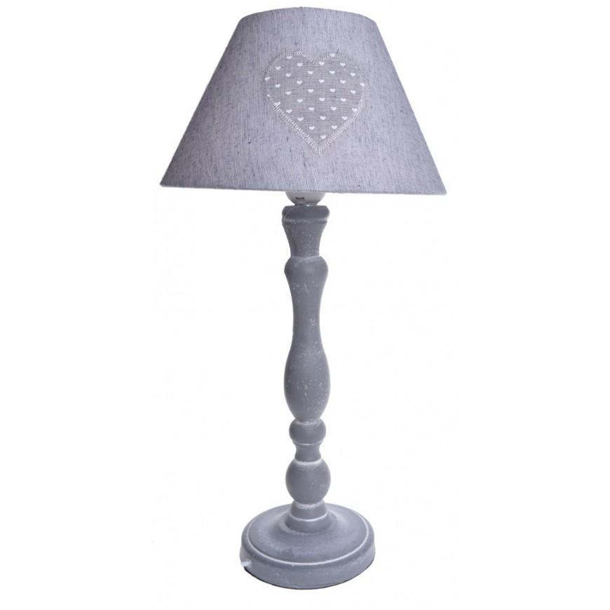 Lampa stołowa z serduszkiem