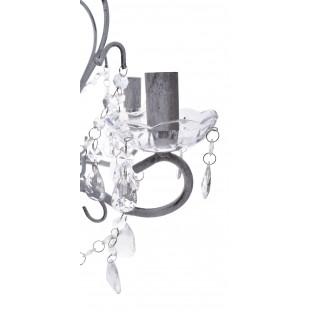 Żyrandol z kryształkami  5 żarówek