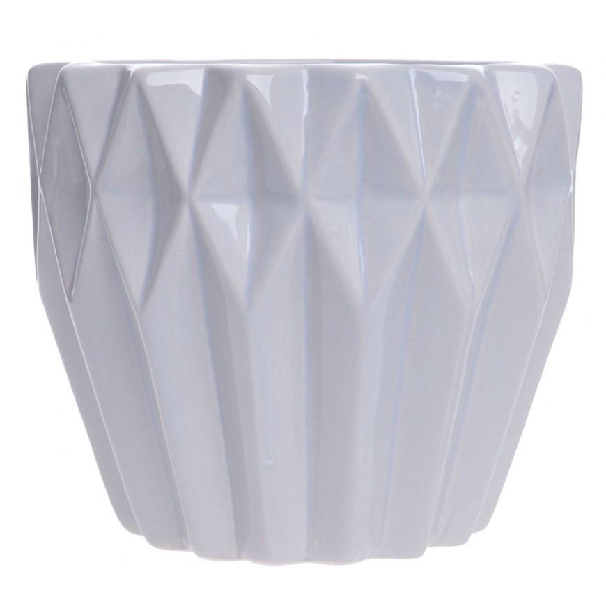 osłonka ceramiczna geometryczna szara