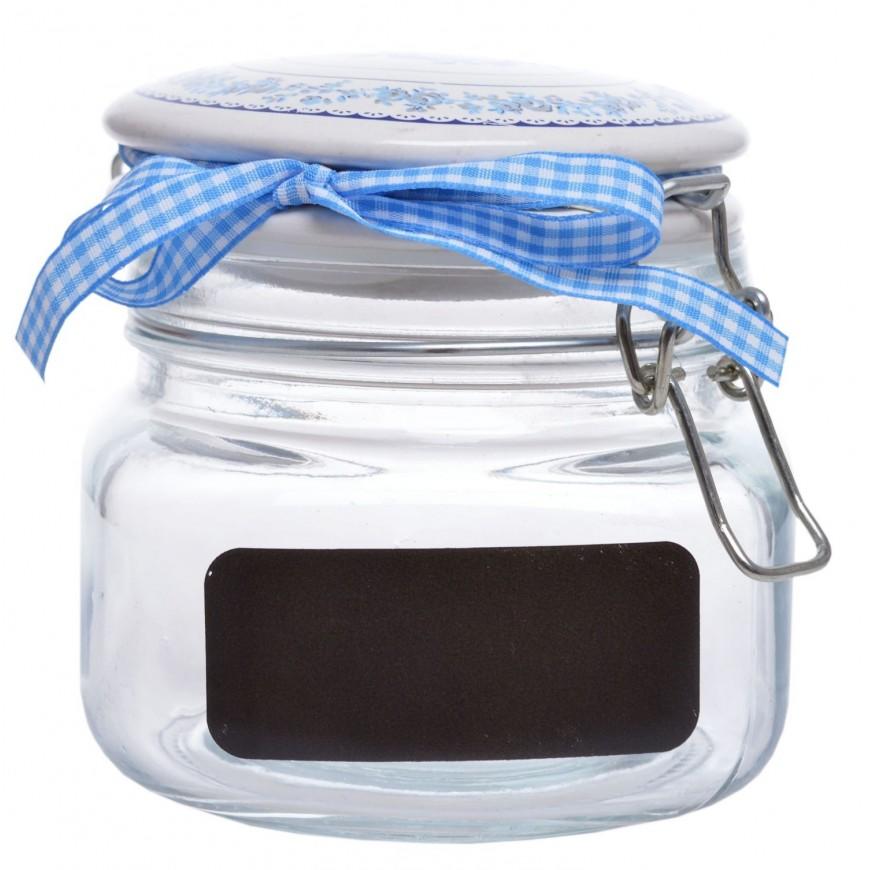 Słoik kuchenny z etykietą 18 cm