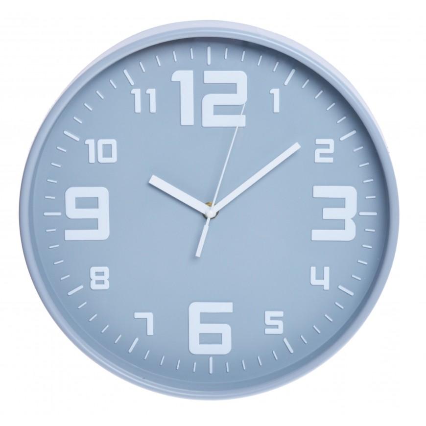 Zegar ścienny szary 30 cm