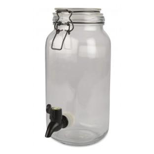 Słój z kranikiem na lemoniadę 25,6 cm