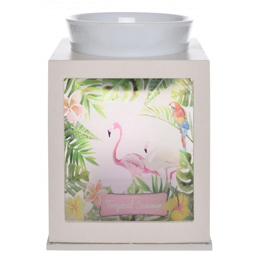Kominek na olejek we flamingi