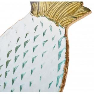 Talerz Ananas ze szkła24x21  cm