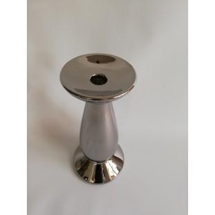 Świecznik srebrny GLAMOUR 25 cm
