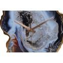 Zegar ala marmurowy 38x50 cm