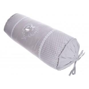 Poduszka dekoracyjna wałek z sercem