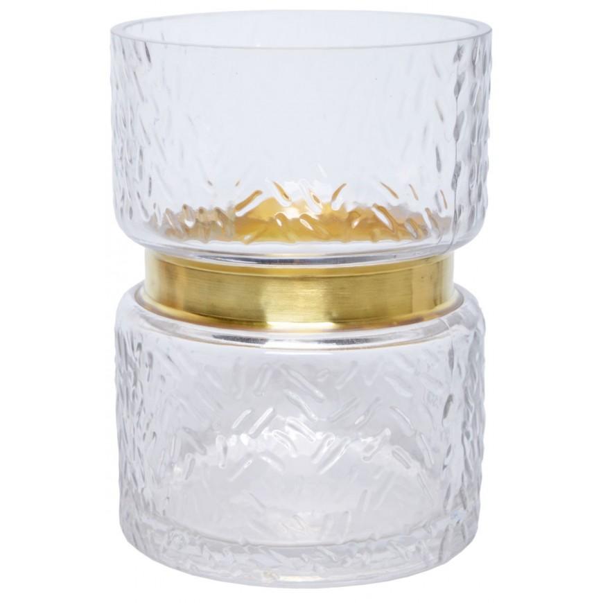 Wazon szklany 17 cm