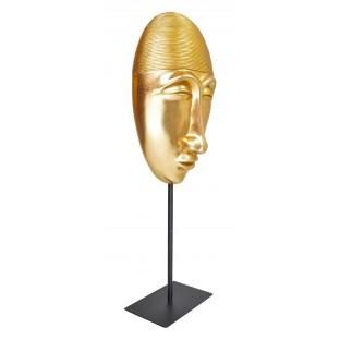 Maska złota na nodze rzeźba 42,5 cm