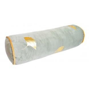WAŁEK welurowy poduszka jasno zielona 50 cm