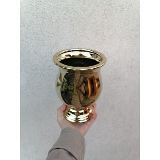 Wazon ceramiczny złota URNA 21 cm