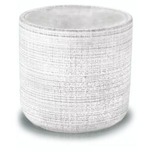 Osłonka betonowa szara biała 14.5 x14 cm