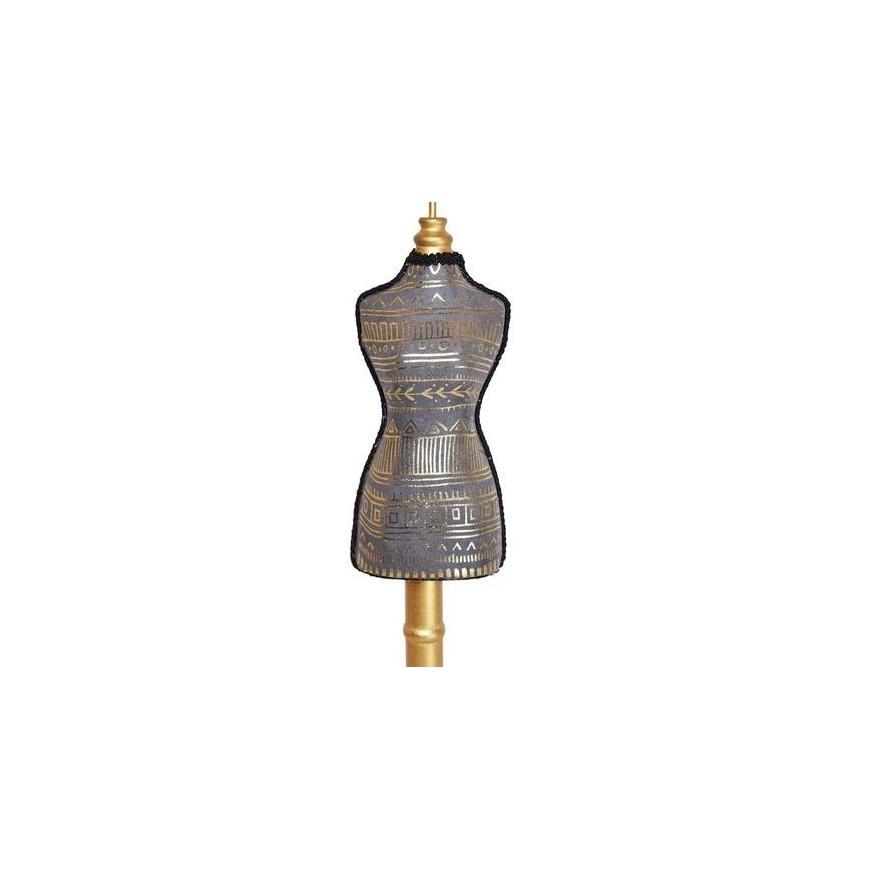 Manekin stojak na biżuterię ciemno szary 40 cm
