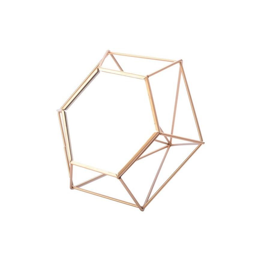 Lustro łazienkowe geometryczne