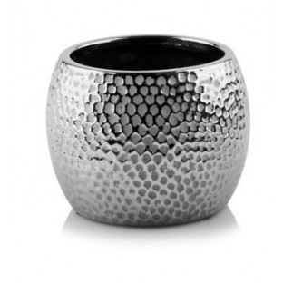 Osłonka ceramiczna srebrna kulka