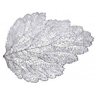 Podkładka mata ażurowa zloty liść /tworzywo/47x36 cm