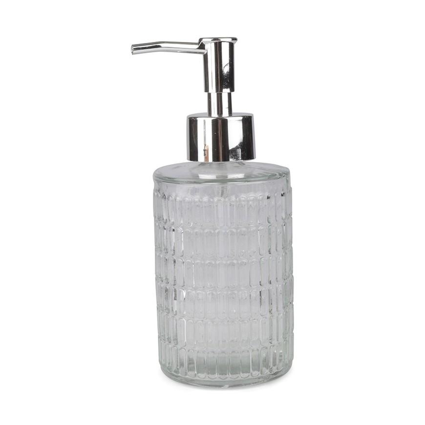 Dozownik do mydła w płynie szklany