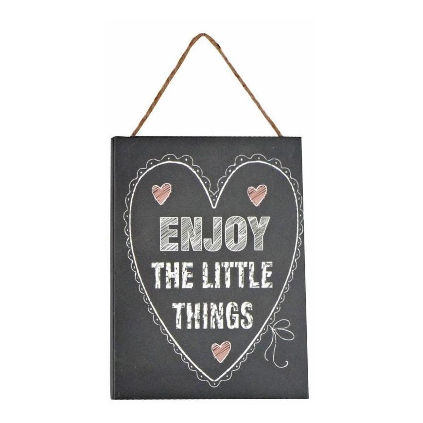 Obrazek mały z napisem 15x20 cm Enjoy the...