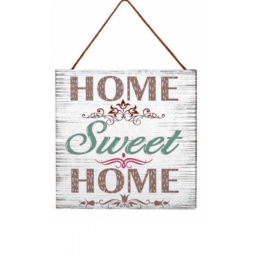 Obrazek mały z napisem Home Sweet Home...20x20 cm