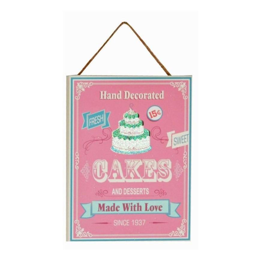 Obrazek na ścianę do kuchni 15x20 cm Cakes...