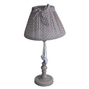 Lampa stołowa w serduszka 50 cm