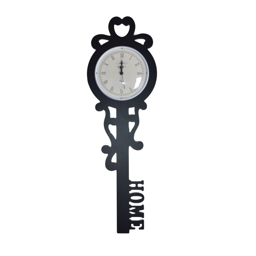 Zegar klucz czarny